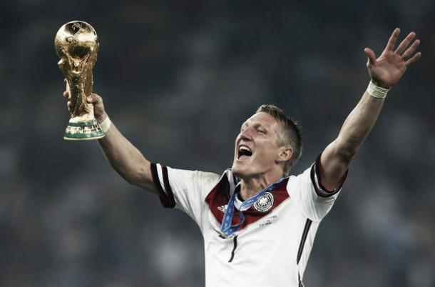 Bastian Schweinteiger joins the current World Champions after Marco Reus' injury - Picture: Mirror