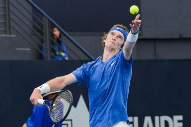 Rublev continued his dominance to begin the year/Photi