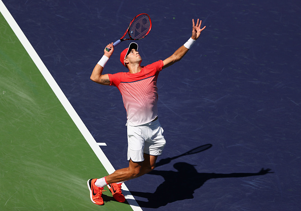 Coric has impressed so far in Indian Wells (Getty Images/ Julian Finney)
