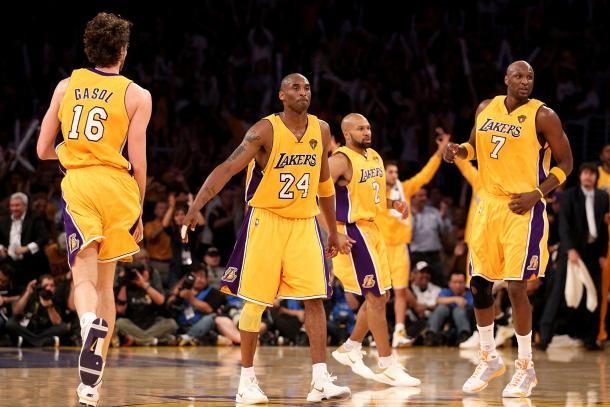 Lakers campeones de 2010 // NBA