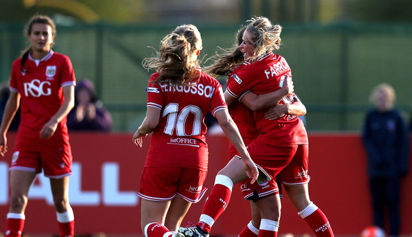 Bristol have been in fine form this season. | Image source: Bristol City Women
