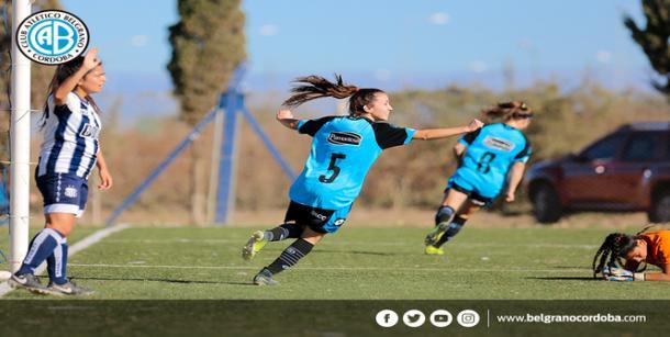 De espalda: Camara | Fuente: Club Atlético Belgrano de Córdoba