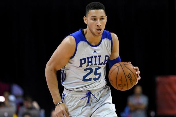 After missing his first season due to injury, it's almost inevitable that Simmons will win the Rookie of the Year award. Photo: Stephen R. Sylvanie-USA TODAY Sports