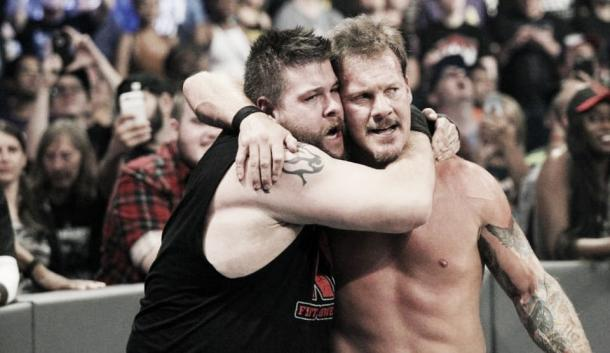 Will they still be best friends heading into WrestleMania? Photo- Forbes.com
