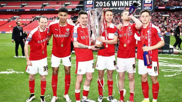 Will Barnsley be marching up the Wembley steps victorious for the second time in a few months? | Image source: BBC