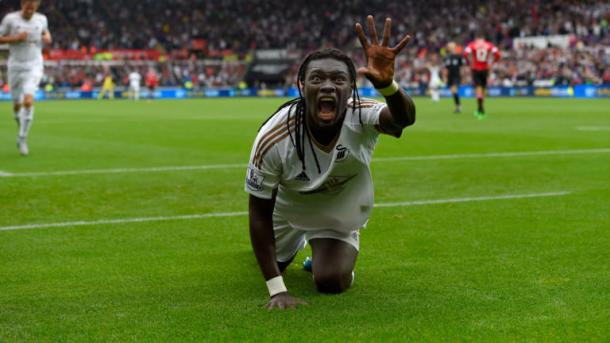 Gomis will be hoping to carry this form into his stay at Marseille. | Image source: Sky Sports