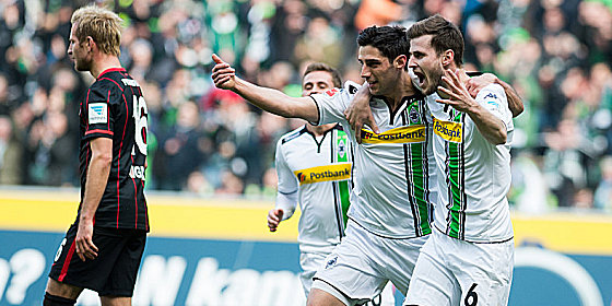Gladbach will be hoping their are similar scenes on Friday night. | Photo: kicker