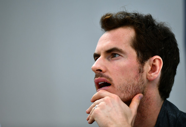 Murray at his pre-tournament press conference (Photo by Dan Mullan/Getty Images)