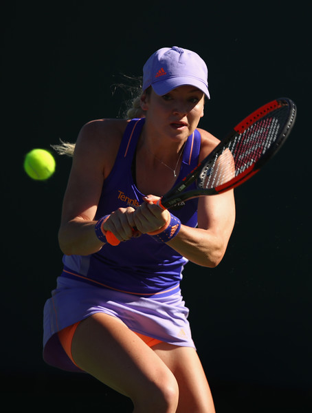 Tereza Martincova in action today | Photo: Clive Brunskill/Getty Images North America
