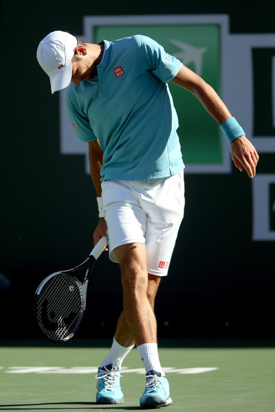 Novak Djokovic would be disappointed with himself today | Photo: Matthew Stockman/Getty Images North America