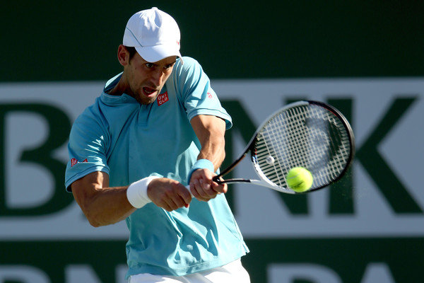 Novak Djokovic's backhand was particularly disappointing today | Photo: Matthew Stockman/Getty Images North America