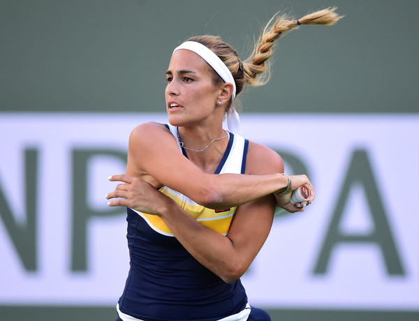 Monica Puig cruised to her victory today | Photo: Harry How/Getty Images North America
