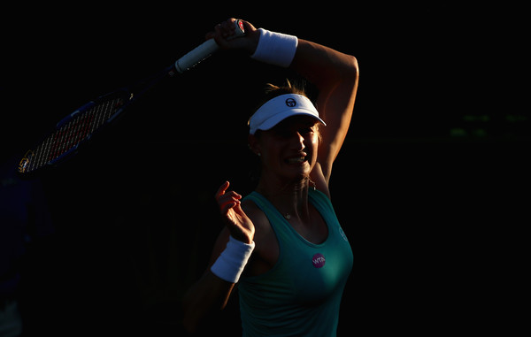 Ekaterina Makarova suffered a disappointing loss today | Photo: Clive Brunskill/Getty Images North America