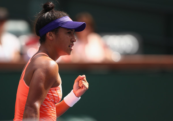 Heather Watson failed to complete her comeback in the second set | Photo: Clive Brunskill/Getty Images North America