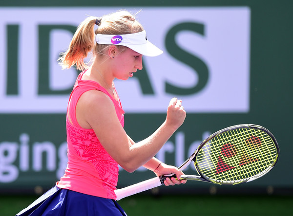 Daria Gavrilova would be happy with her performance today | Photo: Harry How/Getty Images North America