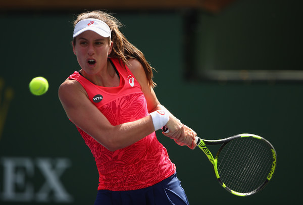 Johanna Konta played a great match today | Photo: Clive Brunskill/Getty Images North America