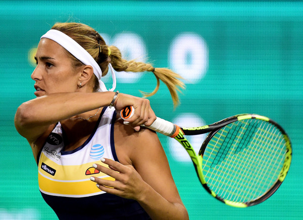 Monica Puig lost a 3-0 lead in the final set today | Photo: Harry How/Getty Images North America