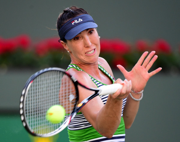 Jelena Jankovic lost her momentum and confidence after the sixth game in the second set | Photo: Harry How/Getty Images North America