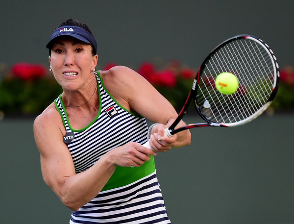It was all Jelena Jankovic in the first set | Photo: Harry How/Getty Images North America