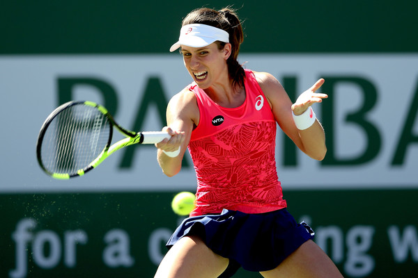 Johanna Konta would rue her missed opportunity | Photo: Matthew Stockman/Getty Images North America