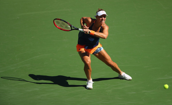 Angelique Kerber struggled during her third round match today | Photo: Clive Brunskill/Getty Images North America