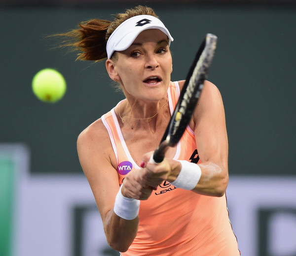 Agnieszka Radwanska has been in poor form this year | Photo: Harry How/Getty Images North America