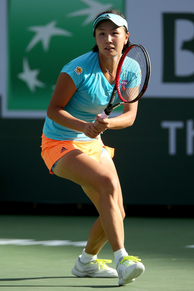 Peng failed to take her chances well in the final set | Photo: Matthew Stockman/Getty Images North America