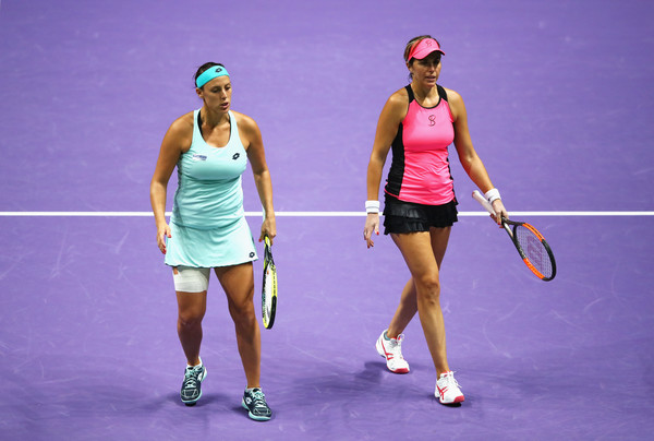Klepac and Martinez Sanchez in action | Photo: Clive Brunskill/Getty Images AsiaPac