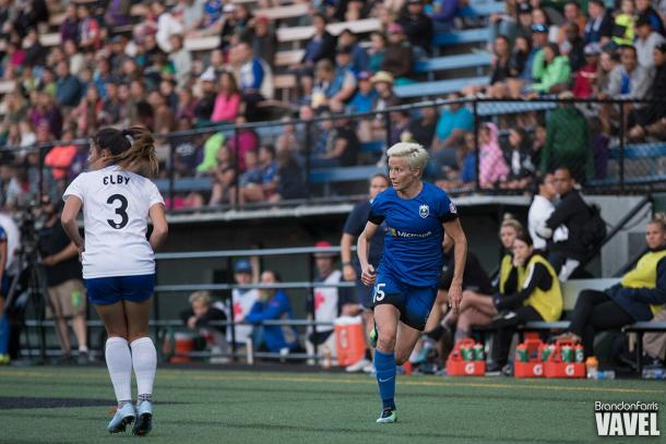 Megan Rapinoe was in scintillating form this year | Source: Brandon Farris-VAVEL USA