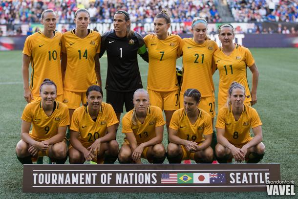Four NWSL getting the start for Australia l Photo:Barndon Farris/VAVEL USA