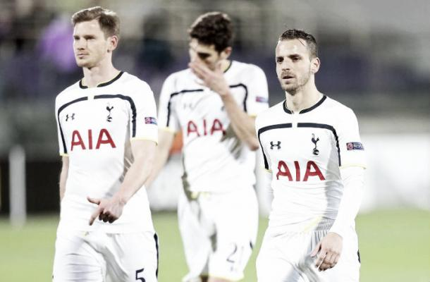 A disappointing Spurs crash out in last years Europa League (metro)