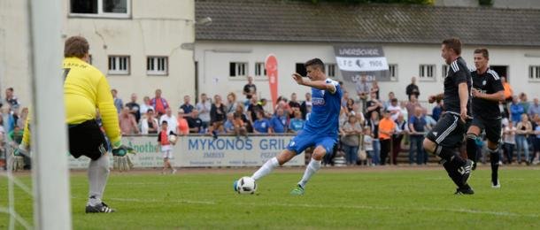 Anthony Losilla bagged a brace in Bochum's most recent pre-season friendly. | Image credit: VfL Bochum