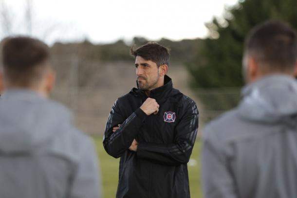 Paunovic en una sesión de entrenamiento(Ted Bryant/Chicago Fire)