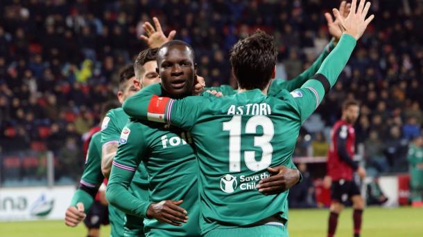 Babacar fue el autor del gol de la victoria ante el Cagliari | Foto: ACF Fiorentina