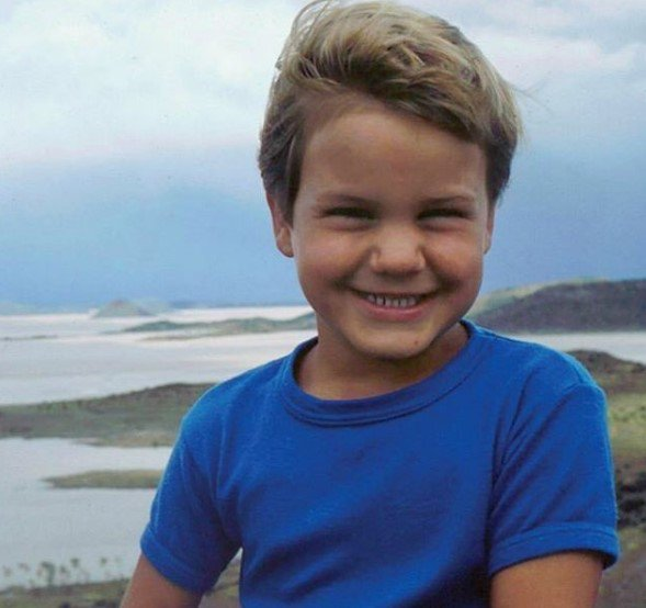 Federer de niño Foto: Twitter.com