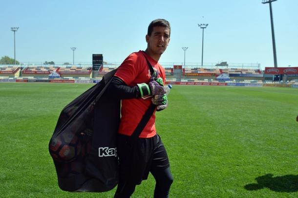 Edgar Badia es un seguro bajo los palos. (Foto: CF Reus)