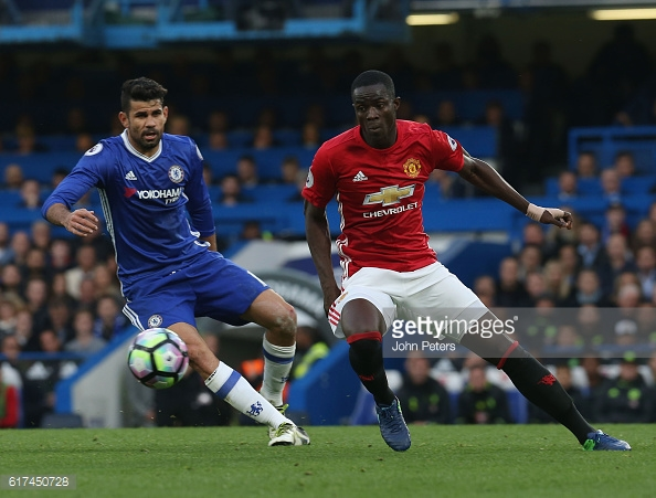 Bailly injured his knee against Chelsea and will be out for 2 months | Photo via Getty Images