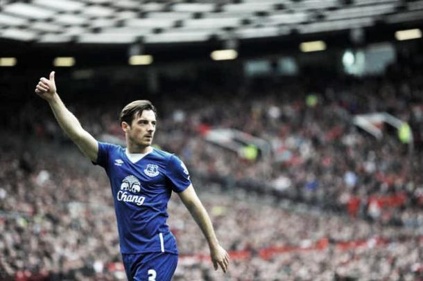 Leighton Baines was not wrong about Everton's lack of chemistry. Photo: EvertonAlerts