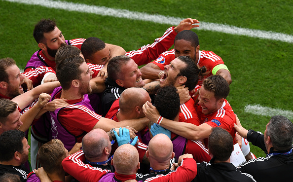 Wales had a memorable opening match - Slovakia | Photo: Dennis Grombkowski/Getty Images