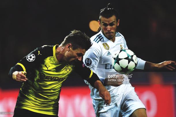 Último partido del Dortmund en casa, frente al Real Madrid. Foto: Getty Images