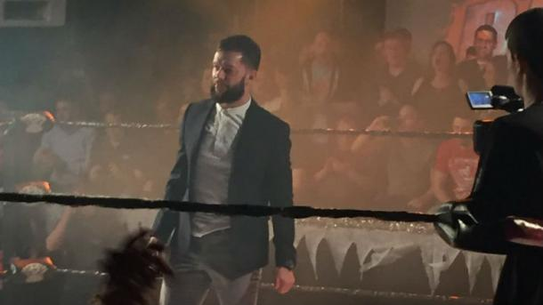 Finn Balor made a surprise appearance at OTT Wrestling (image: topropepress)