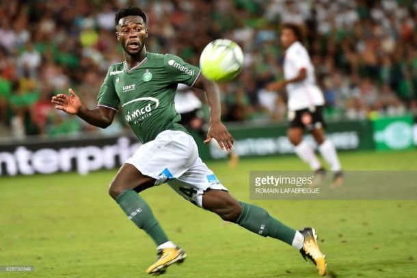 Bamba has found a new lease of life under Garcia. Source - Saint-Etienne.