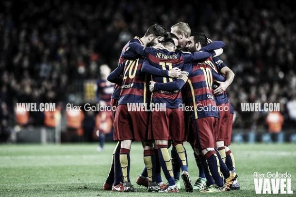 El Barcelona ganó la Copa en 2015 ante el Sevilla | Foto: Alex Gallardo - VAVEL