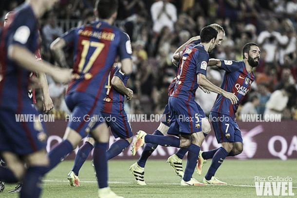 Algunos de los futbolistas con papel secundario en el Barça I Foto: Alex Gallardo (VAVEL)