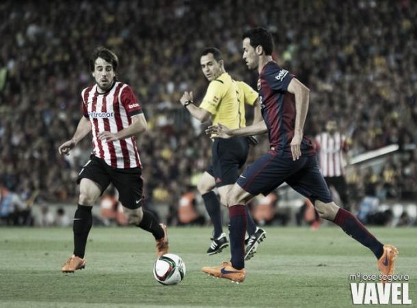 Enfrentamiento entre Barcelona y Athletic, temporada 2016/17 | Foto: Mª José Segovia - VAVEL