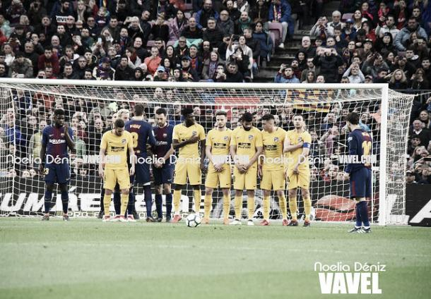 Barcelona vs Atlético de Madrid de la temporada 17´/18 | Foto: Noelia Déniz - VAVEL