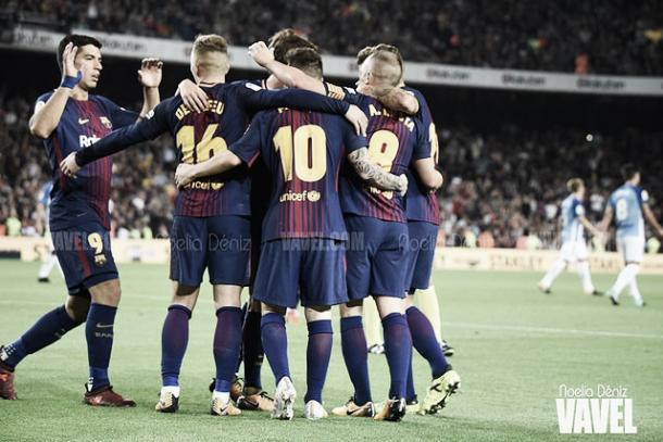 El Barcelona domina al Villarreal   Foto: Noelia Déniz - VAVEL