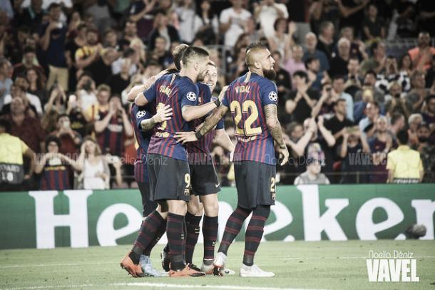 El Barcelona certifica su acceso a cuartos de final | Foto: Noelia Déniz - VAVEL