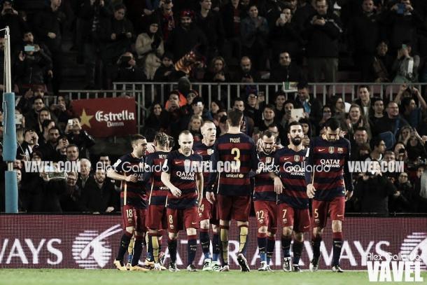 Duelo entre Barcelona y Valencia de la temporada 15/16 | Foto: Alex Gallardo - VAVEL