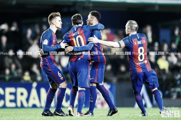 El Barcelona aspiró a la Liga hasta la 38ª jornada | Foto: VAVEL